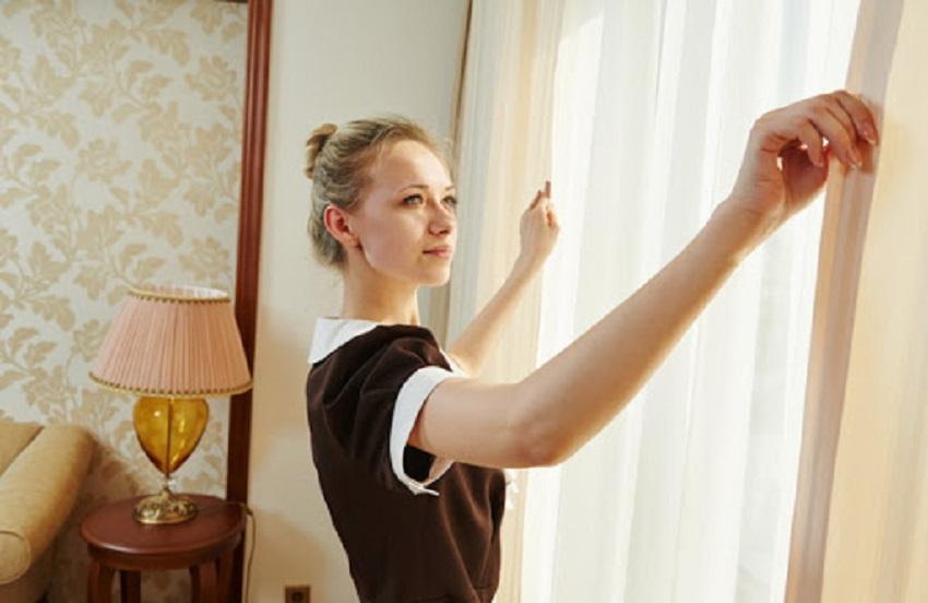 Dịch vụ giặt sấy rèm, màn cửa chuyên nghiệp
